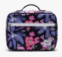 Pop Quiz Lunch Box Blurry Floral/Black