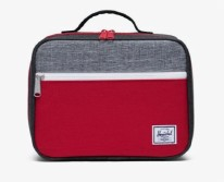 Pop Quiz Lunch Box Black Crosshatch/Red/Raven Crosshatch