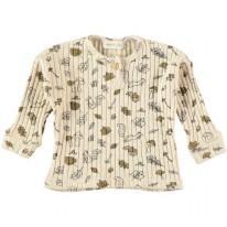 Printed T-Shirt Ecru 9-12m