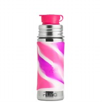 Sport Bottle 11oz Pink Swirl