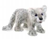 Puppet Snow Leopard Cub