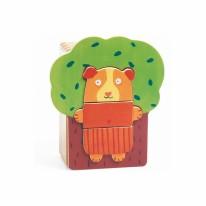 Wooden Puzzle- Arbra Doudou