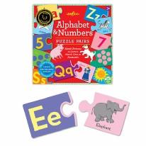 Puzzle Pairs Alphabet &Numbers