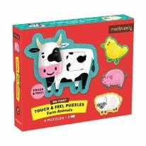 Puzzle Touch & Feel: Farm Anim