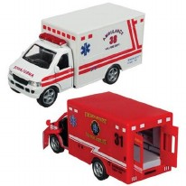 Rescue Team Ambulance