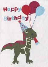 Return of Dino Birthday Card