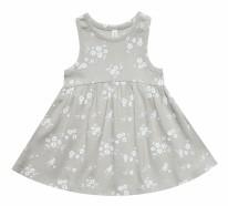 Ribbed Dress Floral 3-6m