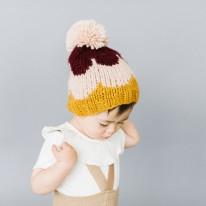 Scallop Hat - Pumpkin 3-12m
