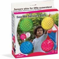 Sensory See-Me Balls 4 in