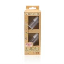 Silicone Finger Brush 2pk