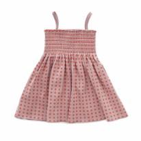 Smock Dress Mauve 6-12m