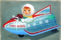 Space Patrol Giclee Print