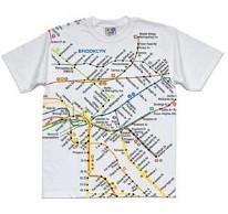 SST Brooklyn Map White 2T