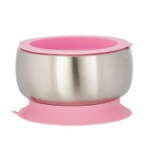 Stainless Steel Bowl Pink