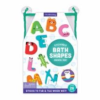 Bath Stickable Foam Shapes Animal ABC