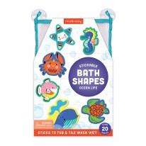 Bath Stickable Foam Shapes Ocean Life