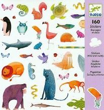 Stickers-Wild & Cuddly