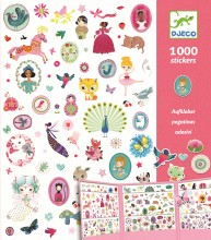 Stickers-1000 for the Girls