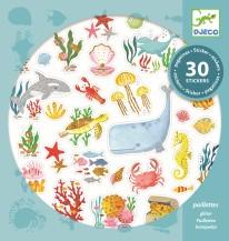 Stickers Aqua Dream- Glitter