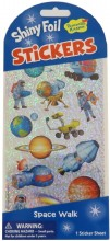 Stickers Foil Space Walk