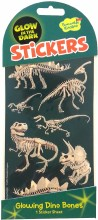 Stickers GITD Dino Bones