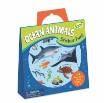 Stickers Tote Ocean Animals