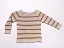 Stripe Sweater Mustard 6-12m
