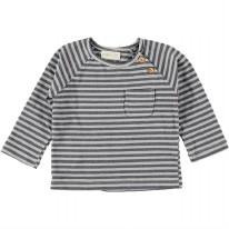 Stripe T-Shirt Grey 3-6m
