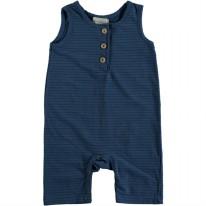 Striped Playsuit Blue 18-24m