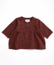 Striped Tunic Rust 3-6m