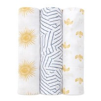 Swaddle Silky Soft Golden Sun