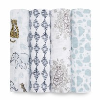 Swaddles Jungle 4 pk