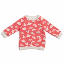 Sweatshirt Coral Moths 12-18m