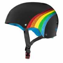 Triple Eight Helmet Rainbow Black XS/S