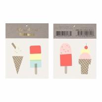 Temp Tattoos Ice Cream