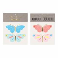 Temp Tattoos Neon Butterfly