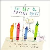 The Day the Crayons Quit hc