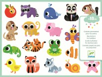 Toddler Stickers- Baby Animals