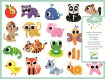 Toddler Stickers- Baby Animals
