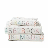 Twin Sheet Set - Alphabet