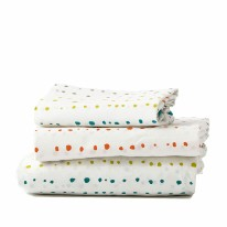Twin Sheet Set - Painted Dots