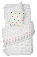 Twin Duvet Cover Alphabet