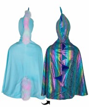 Unicorn/Dragon Cape Reversible