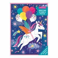 Card Puzzle- Unicorn Party