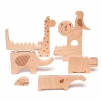 Wooden Puzzle Safari