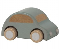Wooden Car Light Blue