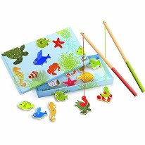 Wooden Magnetic - Fish Tropic