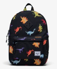 Heritage Youth Backpack Dinosaurs Black