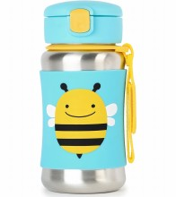 Zoo Stainless Bottle Bee