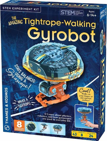 Tightrope Walking Gyrobot